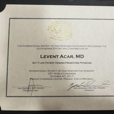 ishr certificate