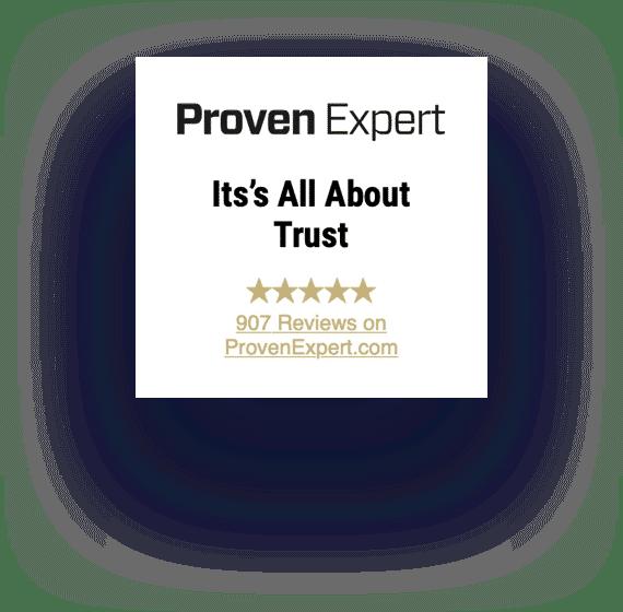 proven expert certificate