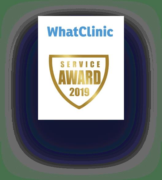 whatclinic service award