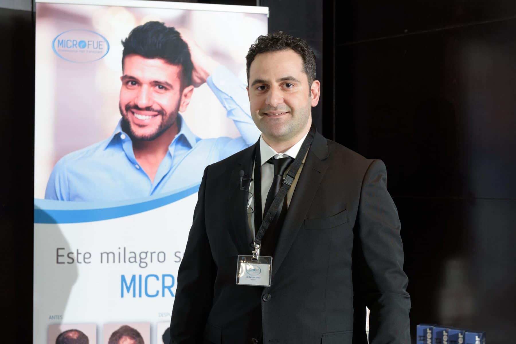 Пересадка волос в Турции доктор Levent Acar-семинар в Барселоне 2016