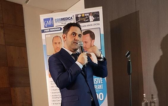 Пересадка волос в Турции доктор Levent Acar-семинар в Лондоне 2017
