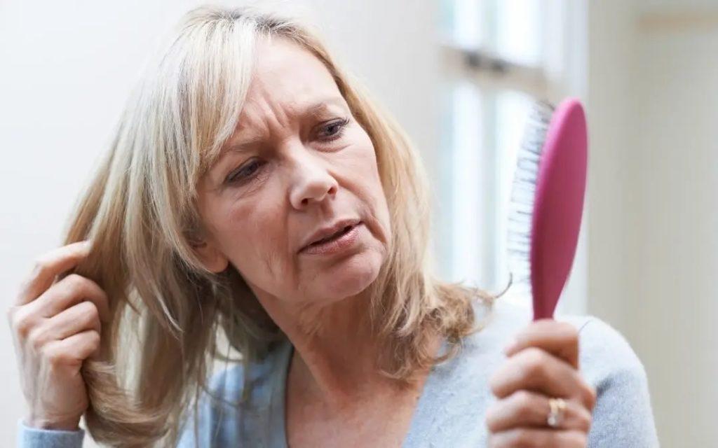 hair loss menopause