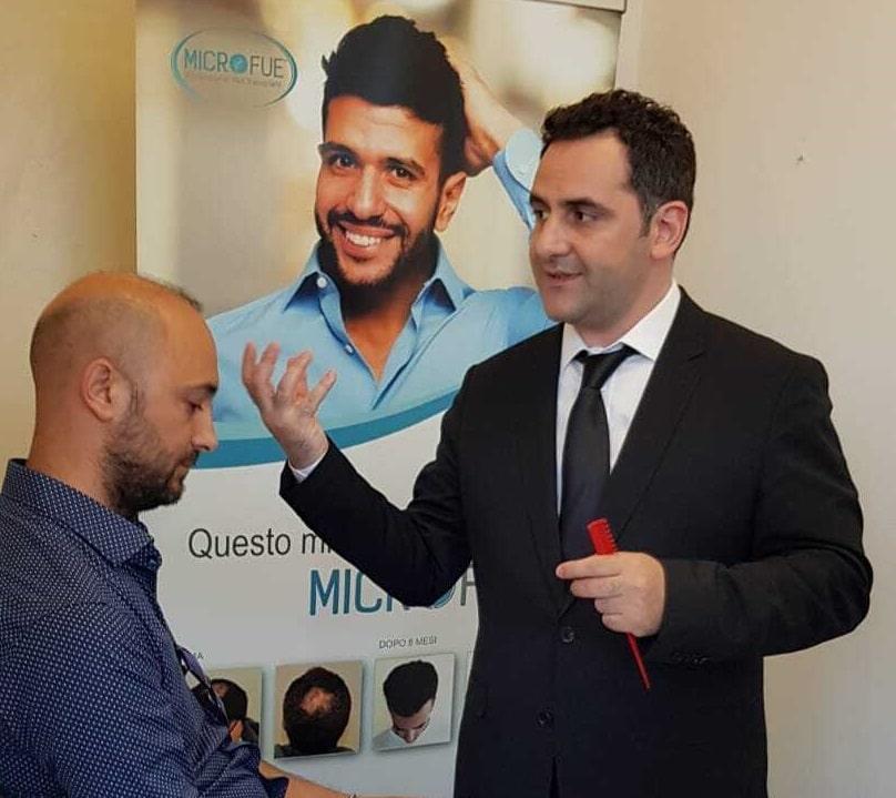 hair-transplant-in-turkey-cosmedica-dr-acar-seminars-napoli-fue-opti консультация