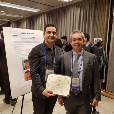 ishrs 2015 dünya kongresi prag dr levent acar saç ekimi sertifikası uzman doktor