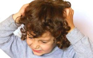Ребенок страдает от выпадения волос
