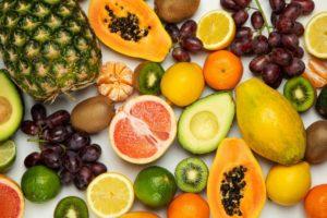 fruiten als bron van vitaminen tegen haaruitval